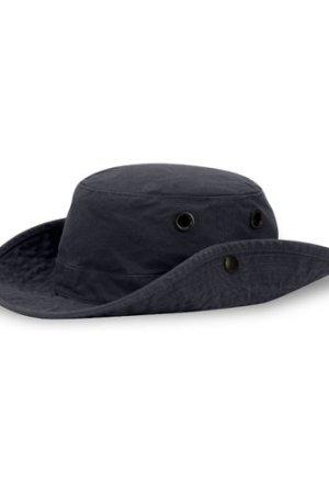 Tilley Unisex T3 Wanderer Medium Snap-up Brim Hat Navy 60cm (7 1/2)