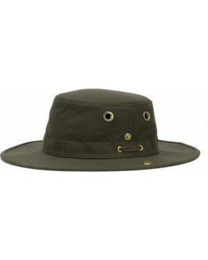 Tilley T3 Medium Brim Snap Up Hat Gold 7 1/2