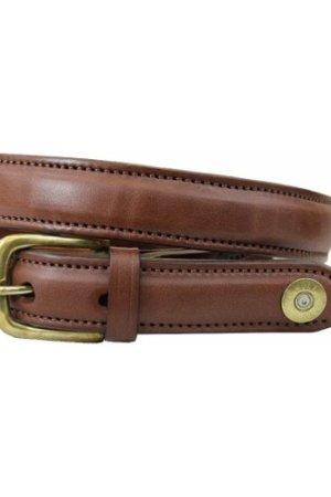Hicks & Hides Mens Stow Field Belt Cognac Multi Medium