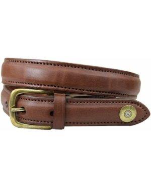 Hicks & Hides Mens Stow Field Belt Cognac Tip XL