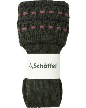 Schoffel Womens Stitch Sock II Raspberry/Purple/Dusty Pink Small