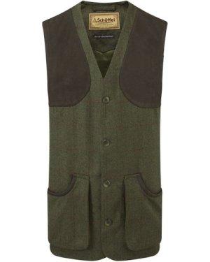 Schoffel Mens Ptarmigan Tweed Waistcoat II Windsor Tweed 38