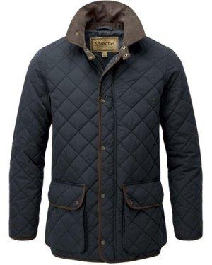 Schoffel Mens Barrowden Quilt Jacket Midnight 40