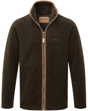 Schoffel Mens Cottesmore Fleece Jacket Dark Olive 38