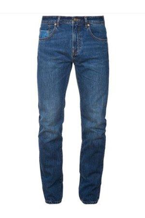 Barbour Mens Regular Fit Jeans Heavy Wash 42 Long