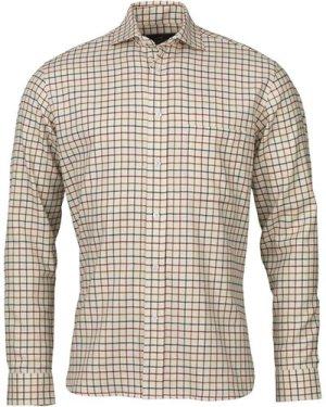 Laksen Mens Albert Shirt Pine/Hazel/Bordeaux XL