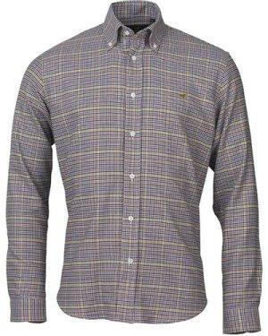 Laksen Mens Ed Shirt Navy/Manadrin/Yellow/Chili XXL