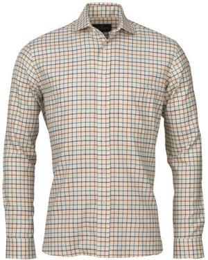 Laksen Mens Jacques Shirt Navy/Ocean/Mandarin XXL