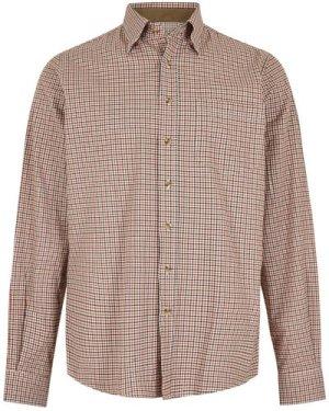 Dubarry Mens Shrewsbury Shirt Ruby Large