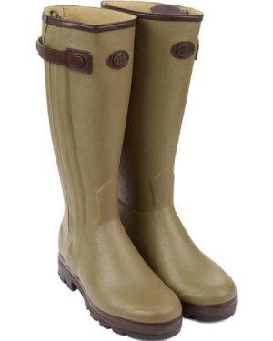 Le Chameau Mens Chasseur Cuir Prestige Boots Vert Vierzon 10.5 (EU45)