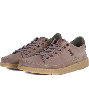 Barbour Mens Bilby Shoes Stone Nubuck 8