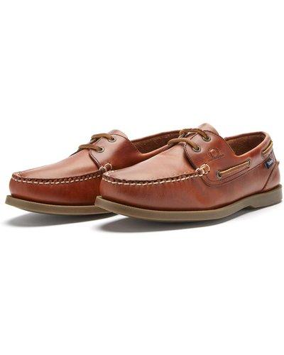 Chatham Mens Deck II G2 Deck Shoes Chestnut 8 (EU42)