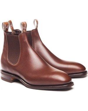 R.M. Williams Mens Craftsman Boots Dark Tan 10.5 (EU45)