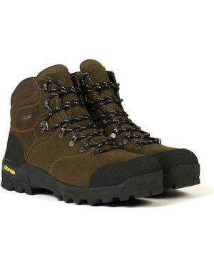 Aigle Mens Altavio Mid GTX Boots Sepia/Black 7.5 (EU41)