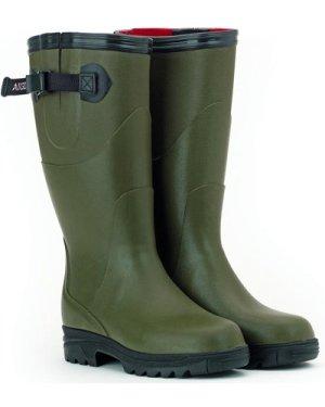 Aigle Womens Reva Iso Wellignton Boots Kaki 4 (EU37)