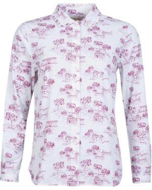 Barbour Womens Meadowstreet Shirt Off White 8