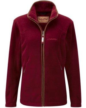 Schoffel Womens Burley Fleece Jacket Ruby 16