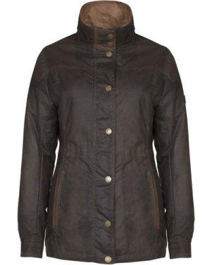 Dubarry Womens Mountrath Wax Jacket Olive 10
