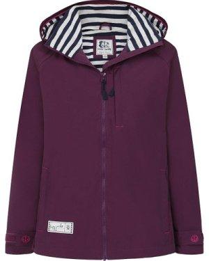 Lazy Jacks Womens LJ45 Waterproof Jacket Deep Purple Medium