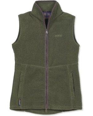 Musto Womens Glemsford Polartec Fleece Gilet Dark Moss 10
