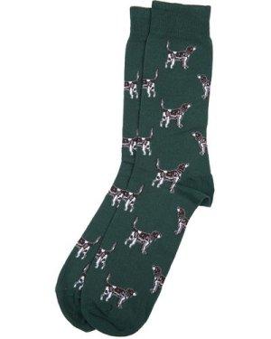 Barbour Mens Pointer Socks Olive Large