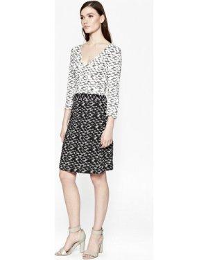 Dizzy Dalmatian Wrap Dress