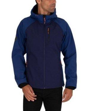 Superdry  Hooded Softshell Jacket  men's Jacket in Blue