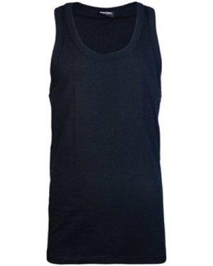 Dsquared  D9D202290_200black  men's Vest top in Black