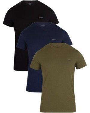 Diesel  3 Pack Jake T-Shirt  men's T shirt in Multicolour