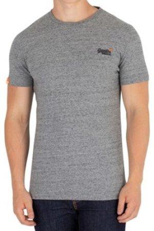 Superdry  Orange Label Vintage EMB T-Shirt  men's T shirt in Grey
