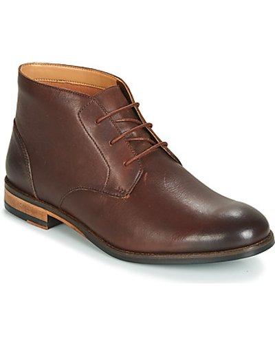Clarks  FLOW TOP  men's Mid Boots in Brown