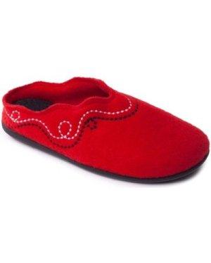 Padders  Aspen Womens Mule Slippers  women's Slippers in Red