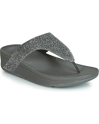 FitFlop  LOTTIE GLITZY  women's Flip flops / Sandals (Shoes) in Silver