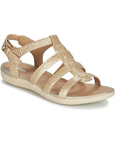 Geox  D SANDAL VEGA  women's Sandals in Gold