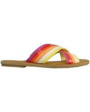 Toms  W Viv Slide Persimon  women's Mules / Casual Shoes in Orange