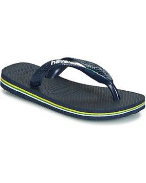 Havaianas  HAVAIANAS BRASIL LOGO  boys's Children's Flip flops / Sandals in multicolour
