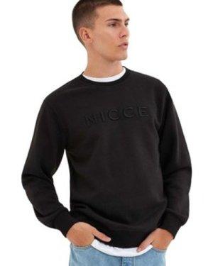 Nicce London  Mercury Sweatshirt  men's Sweatshirt in Black