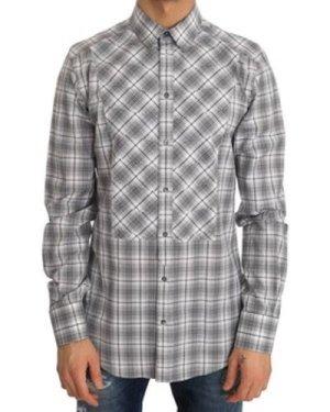D G  -  men's Long sleeved Shirt in multicolour