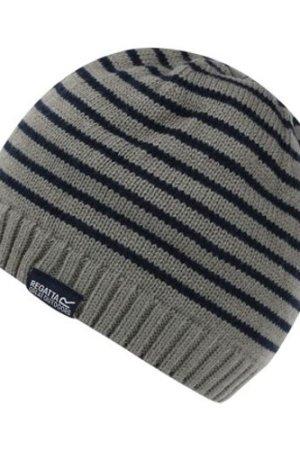 Regatta  Tarley Fleece Lined Knitted Hat Grey  girls's Children's beanie in Grey