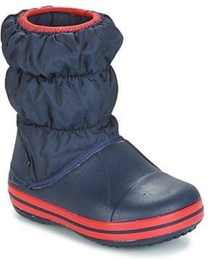 Crocs  WINTER PUFF BOOT KIDS  boys's Children's Snow boots in Blue