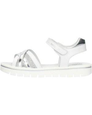 Nero Giardini  E031611F Low Girls White  girls's Children's Sandals in White