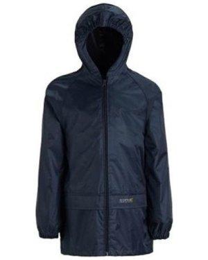 Regatta  Stormbreak Waterproof Shell Walking Jacket Blue  girls's Children's coat in Blue