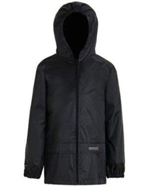 Regatta  Stormbreak Waterproof Shell Walking Jacket Black  boys's Children's coat in Black