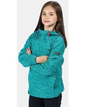 Regatta  Kalola Hooded Fleece Blue  girls's Children's fleece jacket in Blue