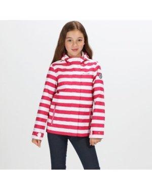 Regatta  Bambalina Lightweight Waterproof Jacket Pink  girls's Children's coat in Pink