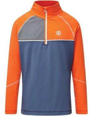 Dare 2b  Formate Core Stretch Half Zip Midlayer Orange  boys's Children's sweatshirt in Orange