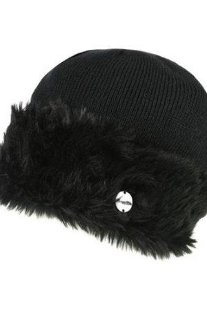 Regatta  Luz Jersey Knit Hat Black  women's Beanie in Black