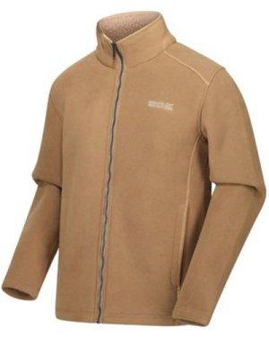 Regatta  Garrian Full Zip Heavyweight Fleece Brown  men's Fleece jacket in Brown