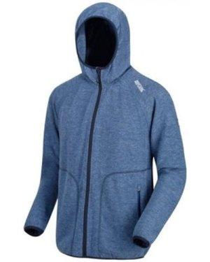 Regatta  Luzon II Wool Look Full Zip Hooded Fleece Blue  men's Fleece jacket in Blue