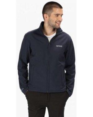 Regatta  Cera III Funnel Neck Softshell Jacket Blue  men's Fleece jacket in Blue